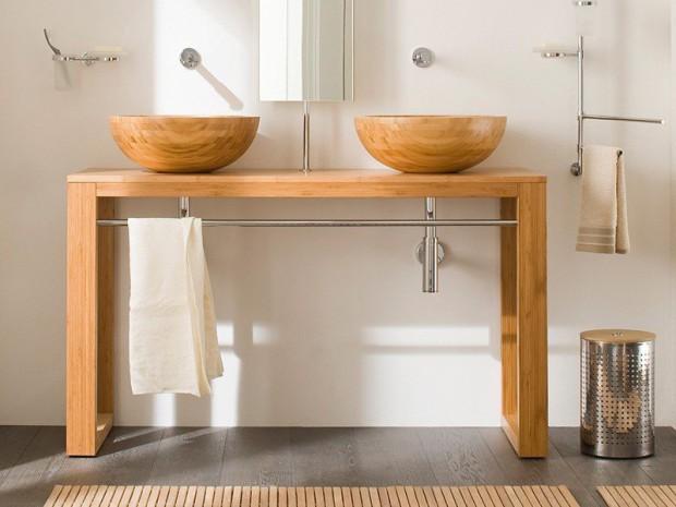Tipos de materiales para el lavabo