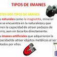 TIPOS DE IMANES