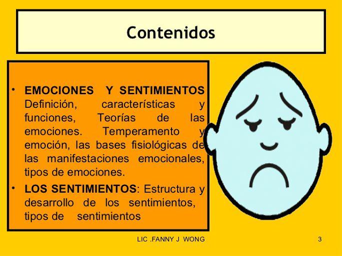 Las Emociones Todos Los Tipos De Emociones