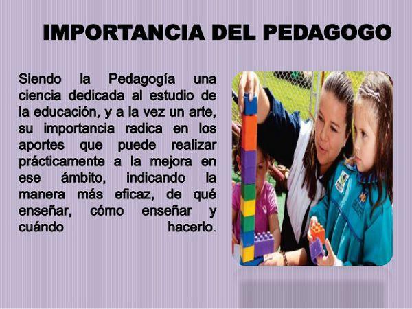 La Pedagogia Tipos Clasificacion Y Concepto